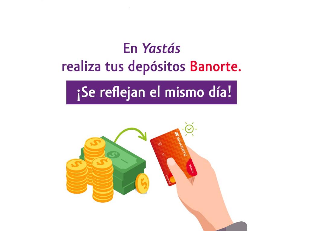 Dónde hacer depósitos y retiros Banorte en México
