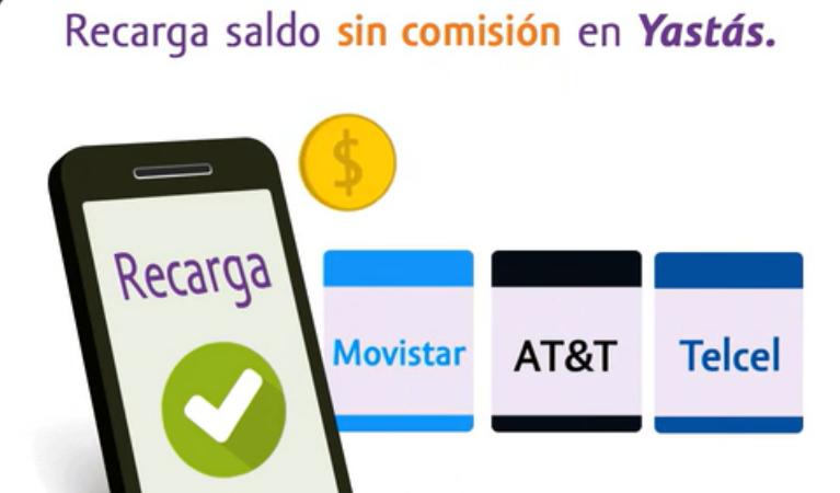 Dónde hacer recargas telefónicas en México